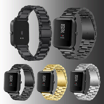 Metal Stainless Steel Watch Band Wrist Strap Bracelet For Huami Amazfit Bip 20mm