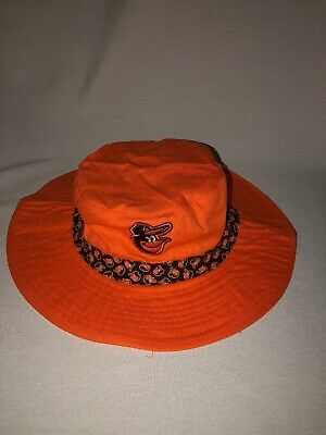 d8f8c695f0fc9 Baltimore Orioles Bucket Hat One Size Fits Most MLB Beach New Miller Lite  Promo