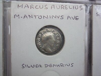 Ancient Roman Silver and Bronze Coins.