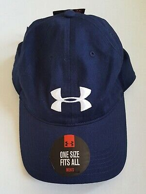 Under Armour Cap Blue One Size Fits Most New 1b9b05e57161