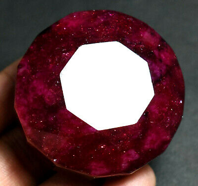 709.5 Ct Natural Huge Red Ruby Gem Stone AGSL Certified Museum Use Round Cut