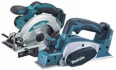 Makita 18v LXT Lithium Ion Cordless Planer DKP180 + Circular Saw DSS610 BODIES
