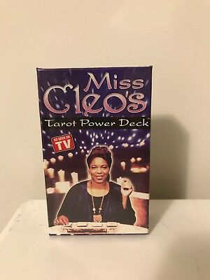 UNOPENED: Miss Cleo's Tarot Power Deck - Egyptian Theme 78 Cards