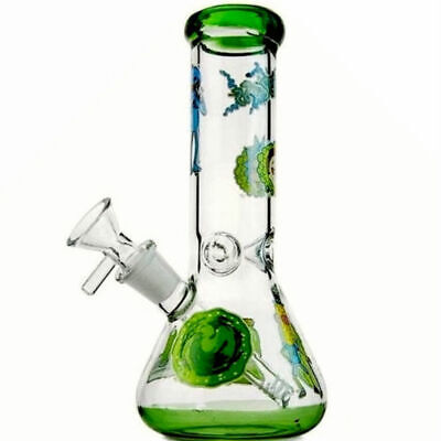 Bong Glass Collectible Bubbler Hookah Tobacco Water Pipe Vase