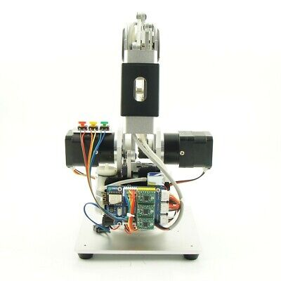 3-Axis Mechanical Robot Arm 3-DOF Robotic Arm with 3pc * 42 Gear Motors Silver