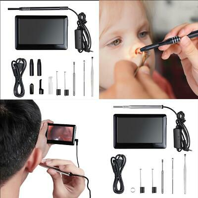 "4.3"" LCD Screen Photo/Video Endoscope Borescope LED Inspection HD Camera DVR"