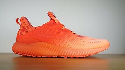 63341d75bf06f Adidas Alpha Bounce EM Running Shoes Orange Red Sneakers BY3223 Women s  Size 9