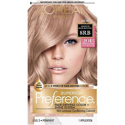 Loreal Paris Superior Preference Permanent 8rb Medium Rose