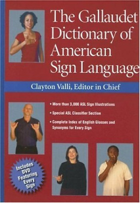 Valli Clayton (Edt)/ Lott P...-The Gallaudet Dictionary Of American Si HBOOK NEW