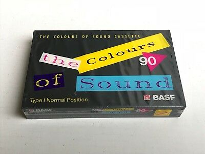 Cassette audio BASF the colours of Sound 90 NEW SEALED