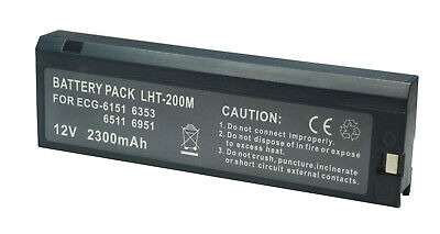 1pc 12V 2300mAh Battery Replace For Cardiofax 8110,LCT-1912NK,ECG-926,TEC-7100