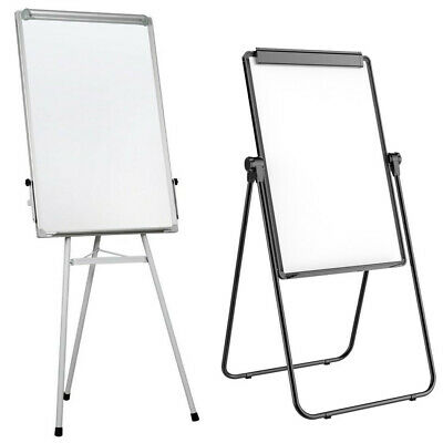 "24 x 36"" White Board Magnetic Dry Easel Board Double Sided Easel Home Office"