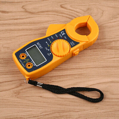 DD2A Digital Multimeter LCD Clamp AC DC Voltage Volt Amp Electronic Tester