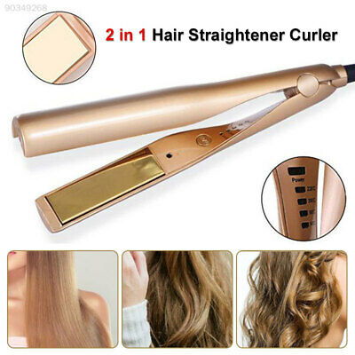 2F00 Portable Hair Curler TWO in One Straighten Your Hair Beauty Health Beauty