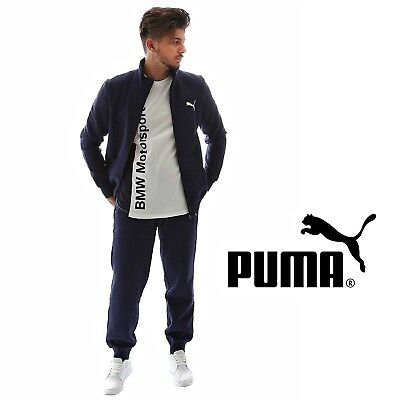 05e92543c7 PUMA ICONIC WOVEN Suit CL Mens Tracksuit Top Joggers Set Peacoat ...