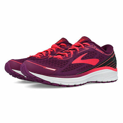 4f07144e31c Brooks Womens Aduro 5 Running Shoes Trainers Sneakers Pink Purple White  Sports