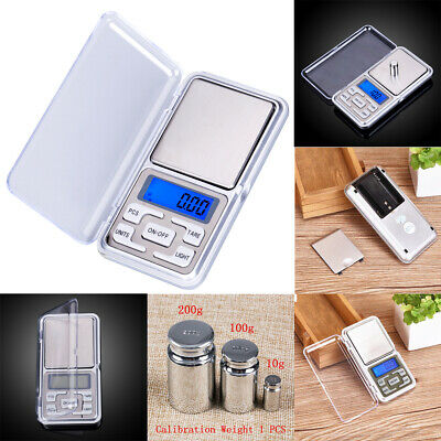 New Electronic Pocket Mini Digital Gold Jewelry Weighing Scale 0.01g-500g Gram