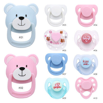 Kids Toy Handmade DIY Dummy Nipples New Baby Simulation Doll Magnet Pacifier