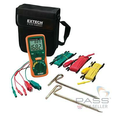 NEW Extech 382252 Earth Ground Resistance Tester Kit - 20 to 2000Ω / Genuine UK