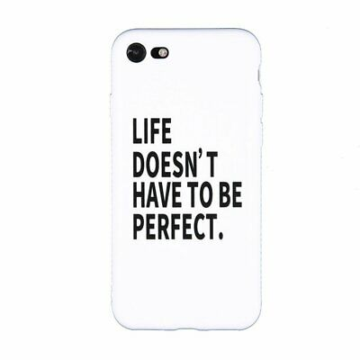 Shockproof Phone Protective Cover Ultra Slim Smooth Hard Skin Back Case Cover SS