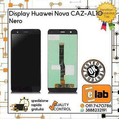 Display Lcd Touch Screen Per Huawei Nova Caz-Al10 Nero Can-L01 Schermo Vetro
