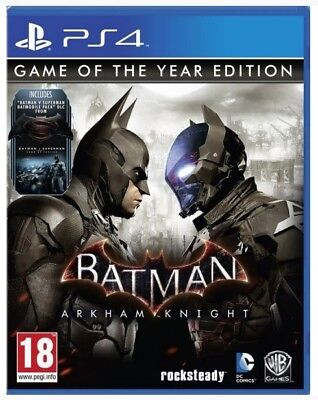 Batman Arkham Knight Game Of The Year ( GOTY, Playstation 4)