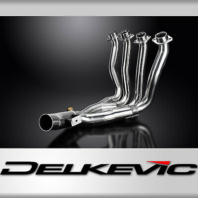 Yamaha Fz1 Fazer Fz1S 06-15 Stainless 4-1 Decat Exhaust Downpipes Oem Compatible