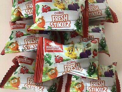 1 X Coles Fresh Stikeez - Little Shop Mini - Unopened Brand New