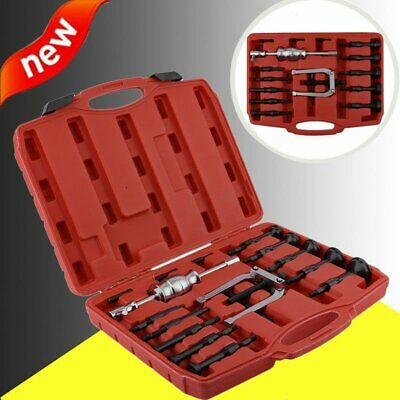 16PC Blind Hole Pilot Bearing Puller Internal Extractor Removal Slide Hammer Set