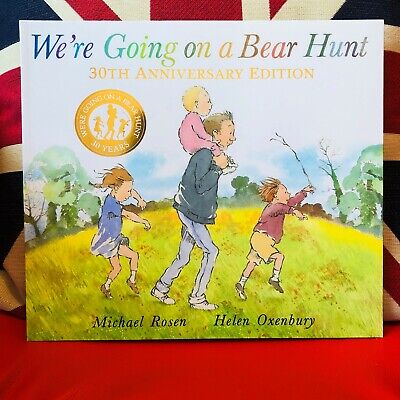 We're Going on a Bear Hunt by Helen Oxenbury (Paperback 2019) 30th Anniversary