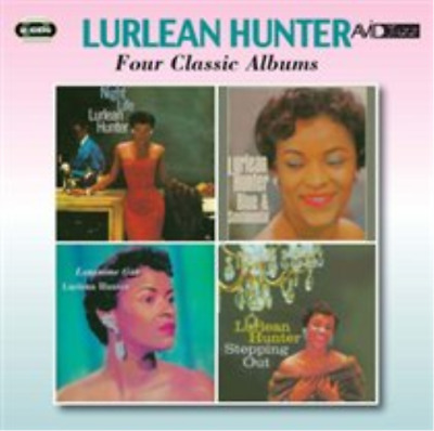 Lurlean Hunter-Four Classic Albums CD NEW