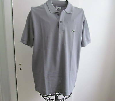 NWT LACOSTE Men s Short Sleeve Classic Fit Knit Gray Polo Shirt size M (4) fd59c36151