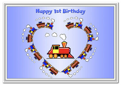 1st Birthday Cards Boys