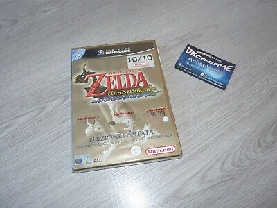 jeu video nintendo game cube zelda the windwaker neuf sous blister officielle