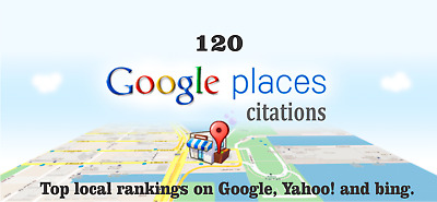 120 Google Map Citations with Backlinks for Local SEO. Google Rank, SEO