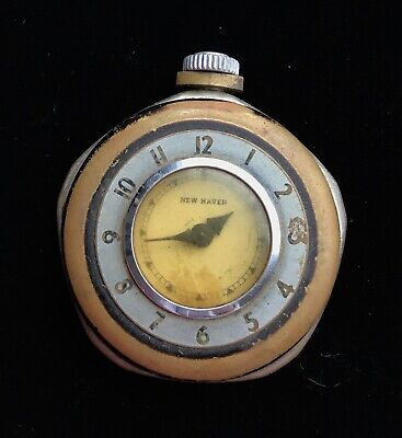 "Vintage Antique New Haven USA Pocket Watch 2 1/4""  M625"
