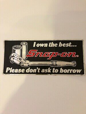 Snap On Tools Retro Decal Sticker