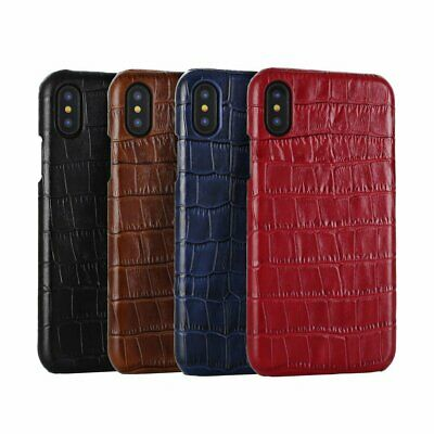 Luxury Ultra Slim Leather Shockproof Silicone Case Cover for iPhone X XS Max SX