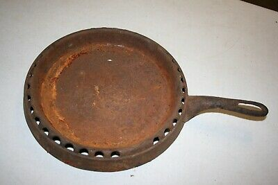 Rare Vintage Cast Iron GRISWOLD Odorless Frying Pan In Rough Condition