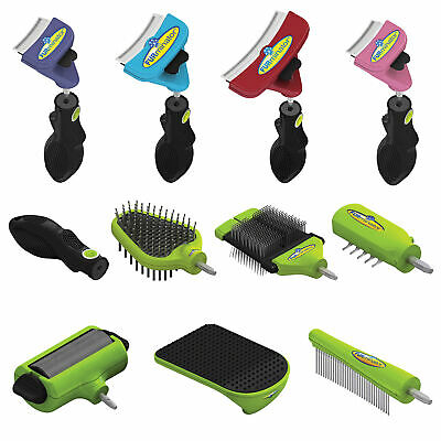 Furminator FURflex Deshedding & Grooming Tools Handle Heads Brushes Dogs & Cats