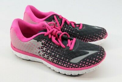 d29c1963cc1 Brooks PureFlow 5 Women s Anthracite Pink Glow Alloy Road-Running Shoe 7M