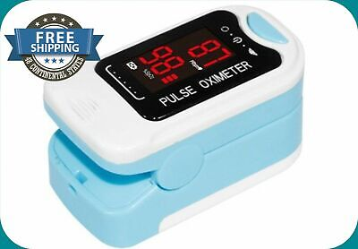 Finger Pulse Oximeter Blood meter Heart Rate Monitor SpO2 Heart Rate with led