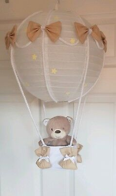 Hot Air Balloon Light Shade mothercare teddys toy box bear look stunning Nursery
