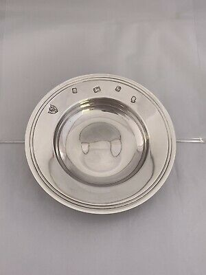 Small Sterling Silver Armada Dish Or Bowl 1977 London