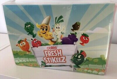 Coles Little Shop Limited Edition Fresh Stikeez Folder Brand New (Case Only)