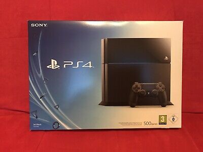 Sony Playstation 4 / PS4 - 500GB Konsole Schwarz - Model CUH-1116A