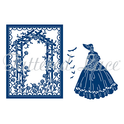 New Tattered Lace Country Manor Sarah Cutting Dies TLD0385