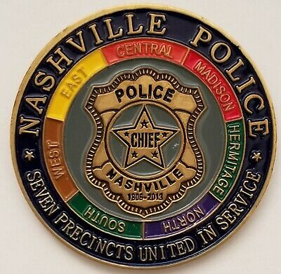 Nashville Police Dept Tennessee TN 50 Years Metropolitan Government 1963 - 2013