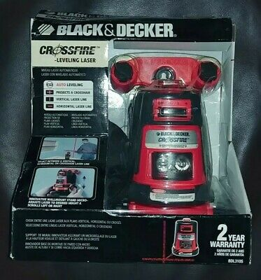 Black & Decker Projected Crossfire Auto Level Laser BDL310S