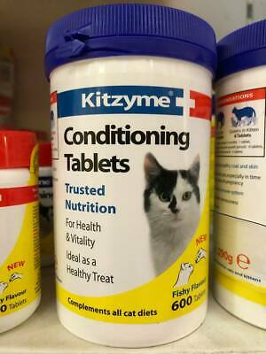 Kitzyme Conditioning Vitamin Tablets x 600 for Cats *SAMEDAY DISPATCH*